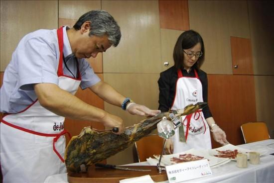 Il Giappone adotta il prosciutto spagnolo Pata Negra